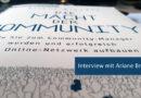 Interview: Buchautorin und Community-Managerin Ariane Brandes