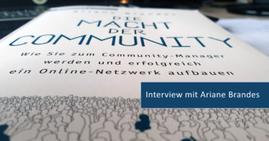 Interview: Buchautorin und Community-Managerin Ariane Brandes